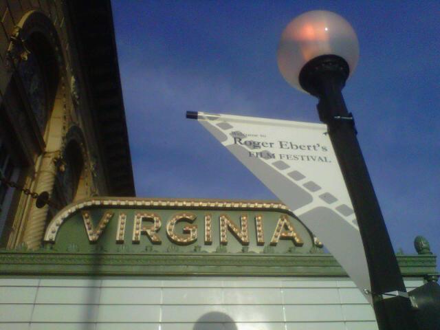 Roger Ebert at Virginia