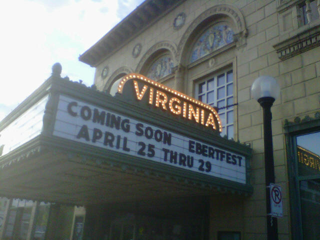 The historic Virginia Theatre is an icon in Champaign.