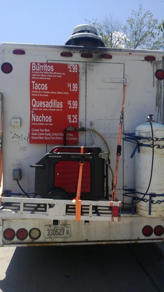 Food truck in Urbana
